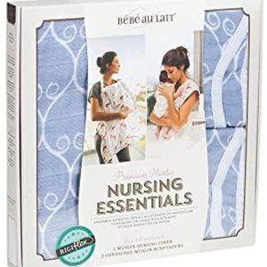 Bebe au Lait Nursing Esst.in Muslin NIB